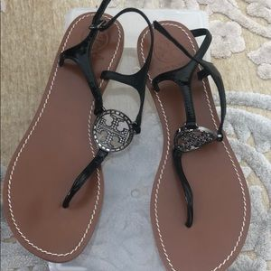 Tory burch used twice 10m sandals